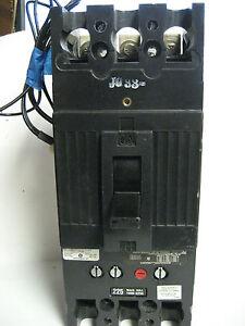 Ge 225 Amp 3 Pole Circuit Breaker Tfj236225 W Shunt Trip