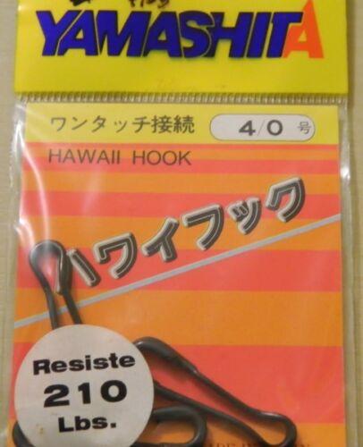 4//0 pesca mf bh31 1 confezione di moschettoni Yamashita lbs 210  n