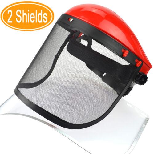 Clear Mesh Full Visor Flip Up Face Shield Screen Safety Mask Eye Protector UK