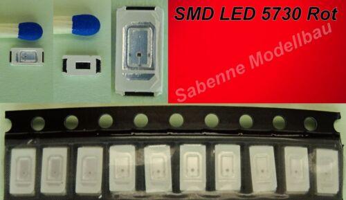 SMD DEL 5730 In 7 Couleurs Différentes 1//10//25//50//100 pièces au choix