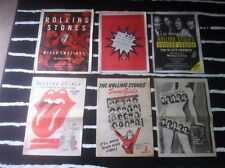 ROLLING STONES - ORIGINAL ADVERT SMALL POSTER mixed emotions LIVE voodoo lounge