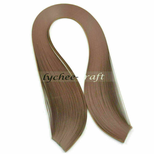120 Strips 3mm Quilling Paper Mixed Origami HandCraft DIY Gfit Making Supplies