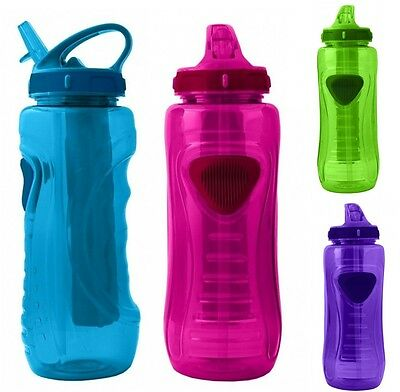 Cool Gear Plastic Infusion Sports Water Bottle, 28 Floz