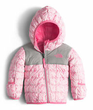 THE NORTH FACE Infant Girls Reversible Thermoball Hoody Jacket NWT 3-6 MONTHS