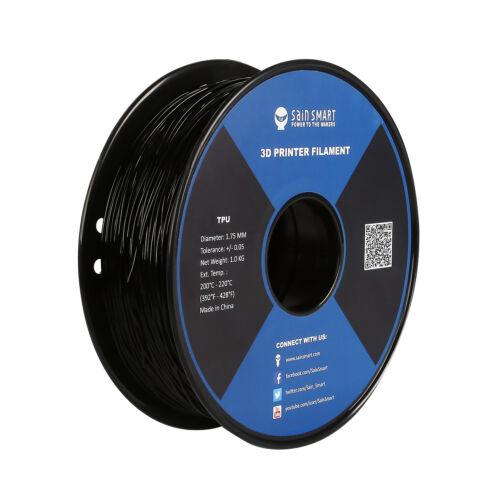 SainSmart 1.75mm TPU Flexible 3D Printing Filament Net Weight 1.0kg/ 2.2lb