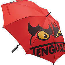 TENG TOOLS  LARGE GOLFING STYLE UMBRELLA RED WITH TENG LOGO