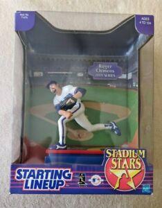 1999 Starting Line Up Roger Clemens Blue Jay Stadium Stars Figure MLB Vintage