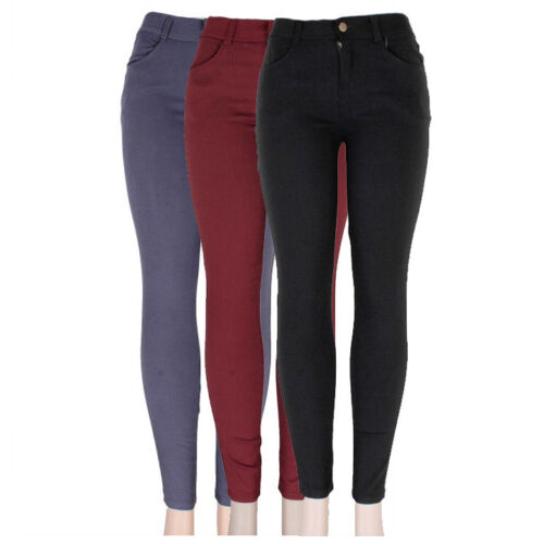Women/'s Skinny Super Stretch Jegging Pants