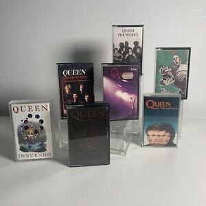 Queen-Cassette-Tapes-Collection-Bundle-Joblot-x-7-Job-Lot-Rock