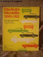 Auto Modelle Katalog Autokatalog AMS 1961/62 (1961 1962) Nr. 5