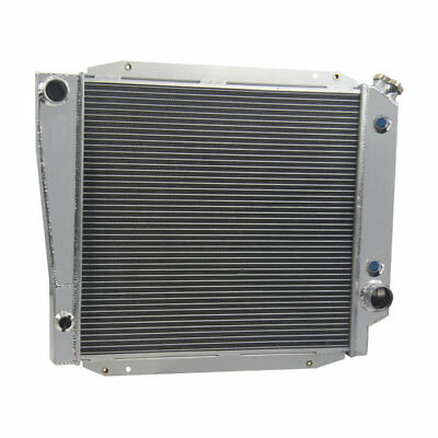 3 Row Radiator For Ford Bronco Wagon & Roadster 5.0L 302 ...