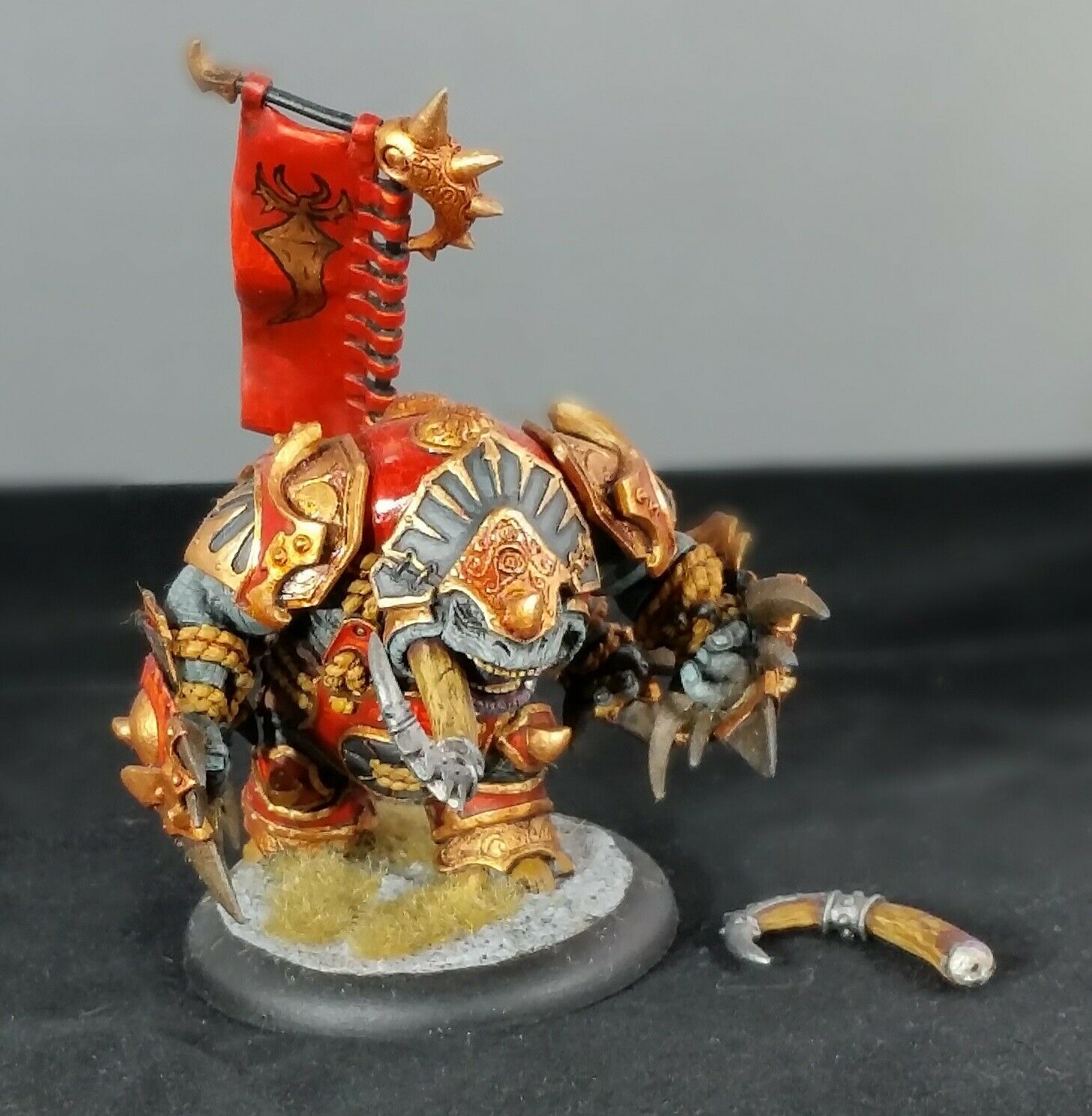 Privateer Press Hordes Skorne Extreme Titan Gladiator Heavy Warbeast Painted