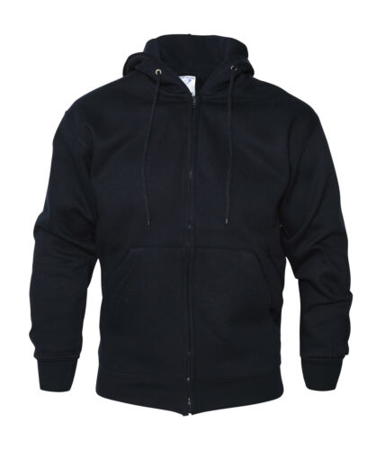 ABSOLUTE APPAREL QUALITY ZIP THROUGH HOODY