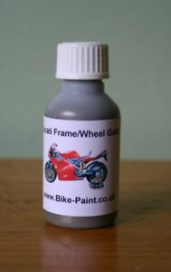 Details about Ducati Motorcycle Engine Grey Touch Up Paint