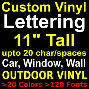 image is loading 11 034 custom vinyl lettering stickers letters decals