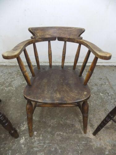 2,victorian,oak,captain chair,arm chair,stick back,kitchen,chair,Price Per Chair