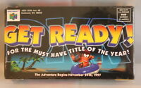 Vintage Collectible Nintendo 64 Diddy Kong Racing Promo Video (vhs, 1997)