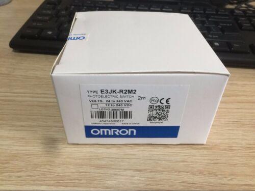 OMRON E3JK-R2M2 PHOTOELECTRIC SWITCH NEW E3JKR2M2