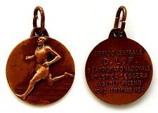 Medaglia Ufficio Centrale Dopolavoro Ferroviario 5° Campionato Nazionale Atletic