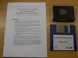 Acorn-ARM-FPA10-floating-point-accelerator-upgrade-kit-A540-A5000-RISC-OS-ALA23
