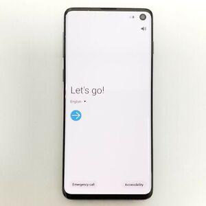 Samsung Galaxy S10 128gb Prism Black Unlocked Read Description 887276302126 Ebay