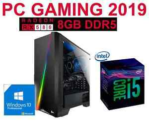 OFERTA-REBAJAS-Ordenador-GAMER-INTEL-i5-8GB-1TB-ATI-RX580-8GB-WIN10