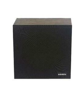 Bogen-Wall-Baffle-Speaker-w-Recessed-Vol-Control-8-034-Cone-Speaker-BG-WBS8T725