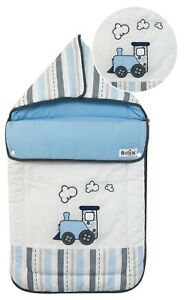 HOODED-BABY-SACK-SLEEPING-BAG-WITH-EMBROIDERY-TRAIN-DESIGN