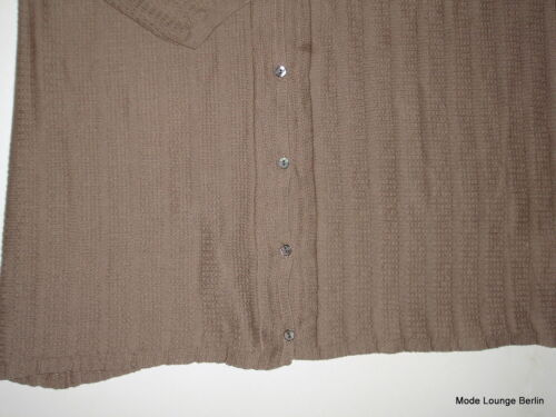 Roze bruin jas Noa lila Sepia beige vest zout Lily gebreide xR6EFEwI