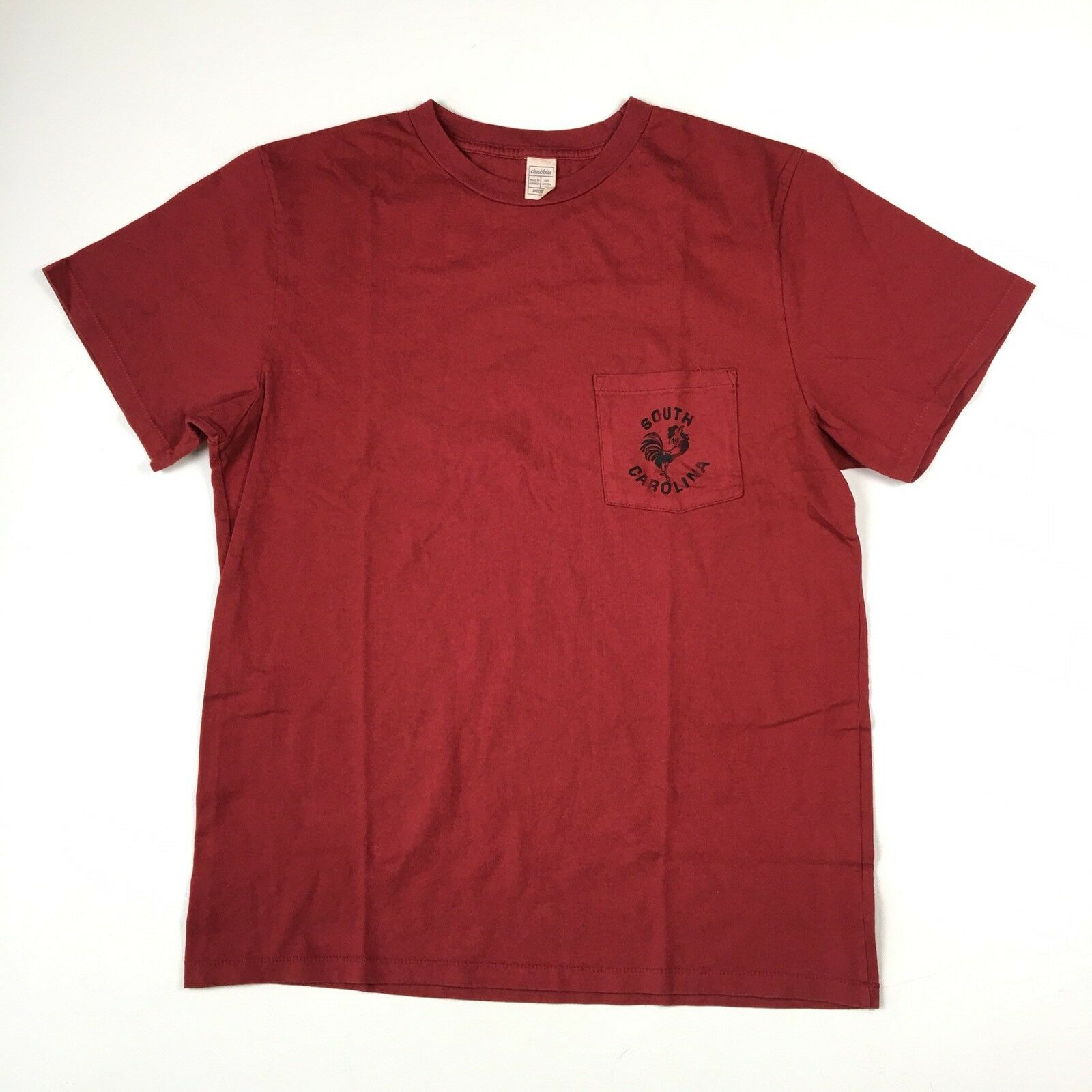 Chubbies T-Shirt M Rot South Carolina Tasche C2019