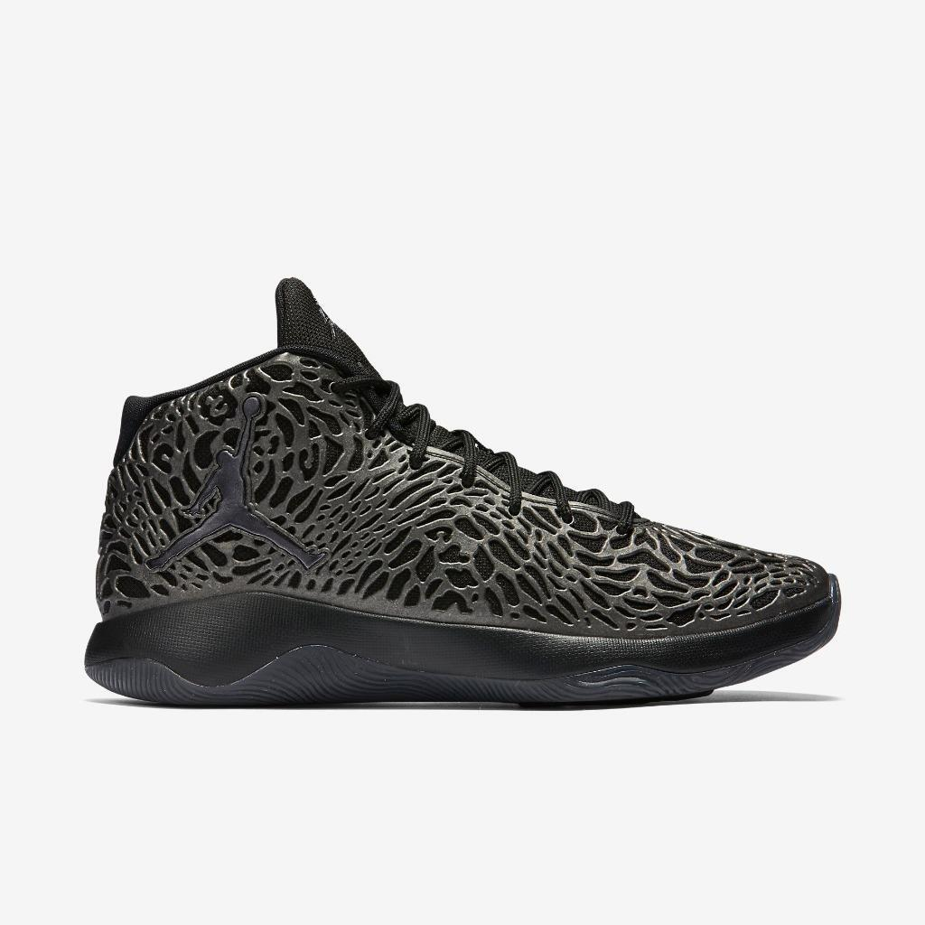 AIR JORDAN ULTRA.FLY 834268 010 BLACK/METALLIC HEMATITE-DARK GREY - ULTRAFLY