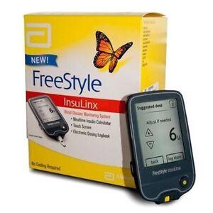 Abbott Freestyle Insulinx Blood Glucose Meter Monitor