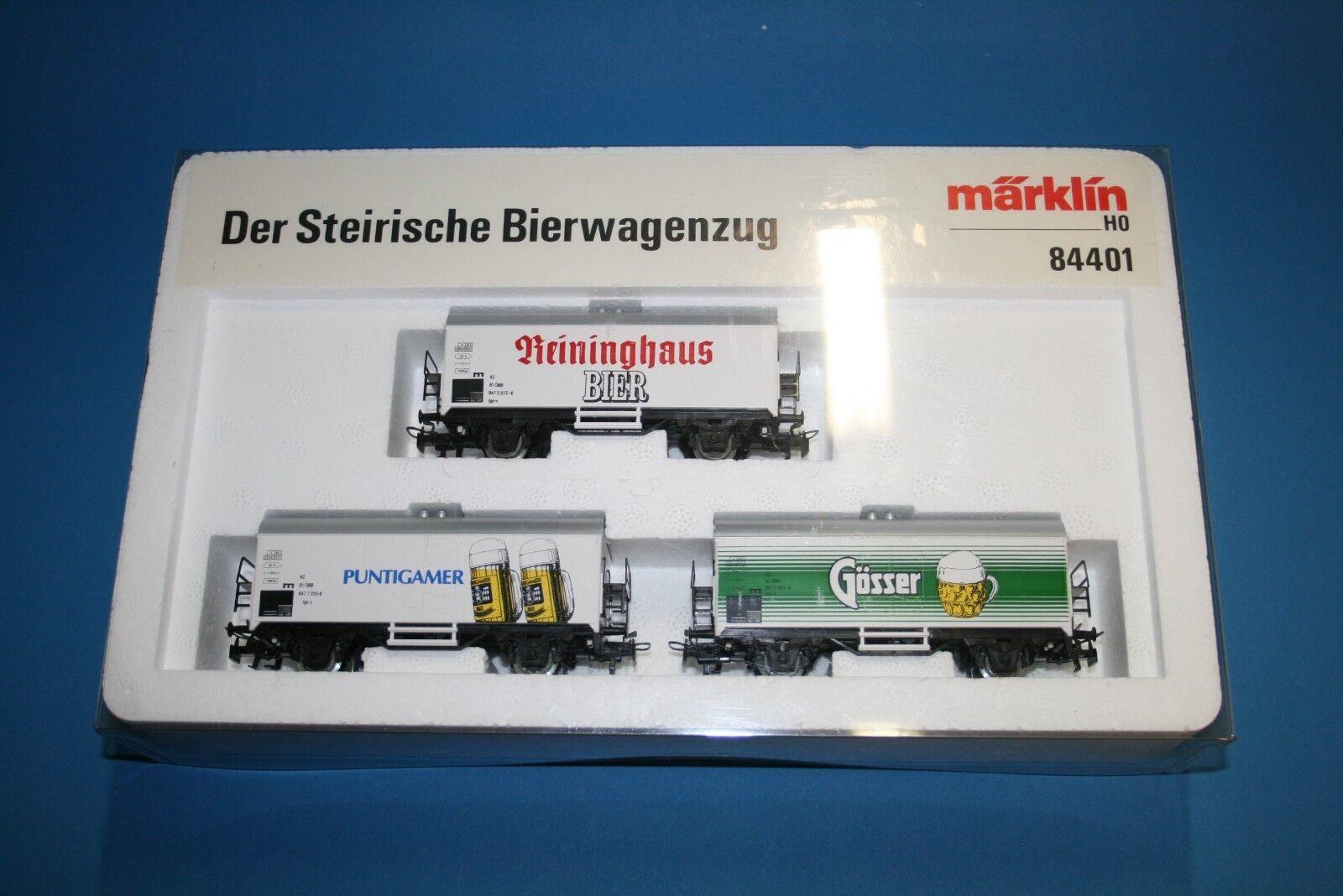 M&B Marklin Ho 84401 le der steirische bierwagenzug ÖBB