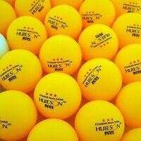 30 Pcs 3-Stars 40mm Olympic Table Tennis Balls Ping pong Balls orange AAA