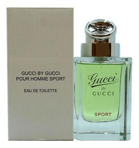 GUCCI BY GUCCI SPORT POUR HOMME EAU DE TOILETTE SPRAY 90 ML   3.0 FL ... 1d2fd3668d