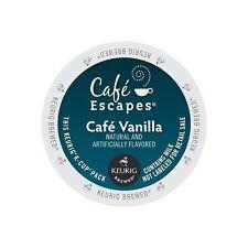 Cafe Escapes Keurig K Cups Vanilla 48 Count