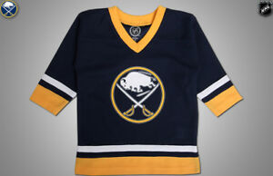 NHL Buffalro Sabres Hockey Jersey Toddler Kids Youth sz 12M-XS(4 5 ... 219e3673a89