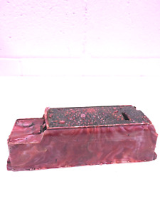 RARE-Vintage-1950s-O-Scale-Lionel-1666-T-Marbled-Plastic-Tender-Car-Shell