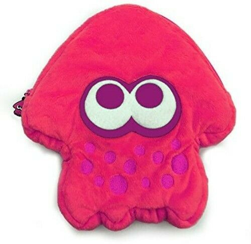 Hori Splatoon 2 Plush Pouch: Pink for Nintendo Switch -