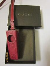 USB-Stick Halter/Tasche in Leder von Gucci in OVP