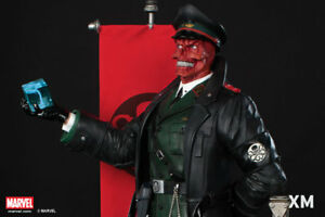XM-Studios-1-4-Scale-RED-SKULL-Statue-Figure-BRAND-NEW-UNOPENED-FREE-SHIPPING