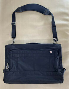 Victorinox-Swiss-Army-Trifold-Carry-On-Black-Garment-Suit-Travel-Bag-Shoulder