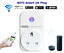 Smart Plug Wifi Socket Wireless Outlet Remote Voice Control Timer Control FTTTuk