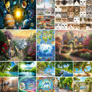 300-500-1000-Pieces-Puzzle-Landscape-Animals-Jigsaw-Adult-Kids-Toys-Gifts