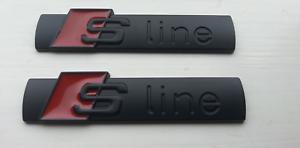 NEW-AUDI-S-LINE-METAL-BADGE-BLACK-EMBLEM-STICKER-A1-A3-A4-A5-A6-TT-Q3-Q5-Q7-S3