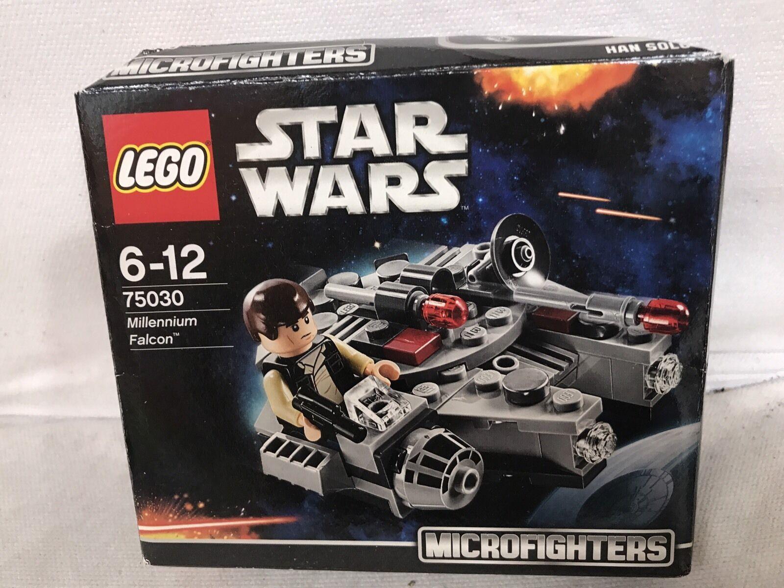 Lego Set 75030 Star Wars Microfighters Millennium Falcon Han  Solo - nouveau  Style classique