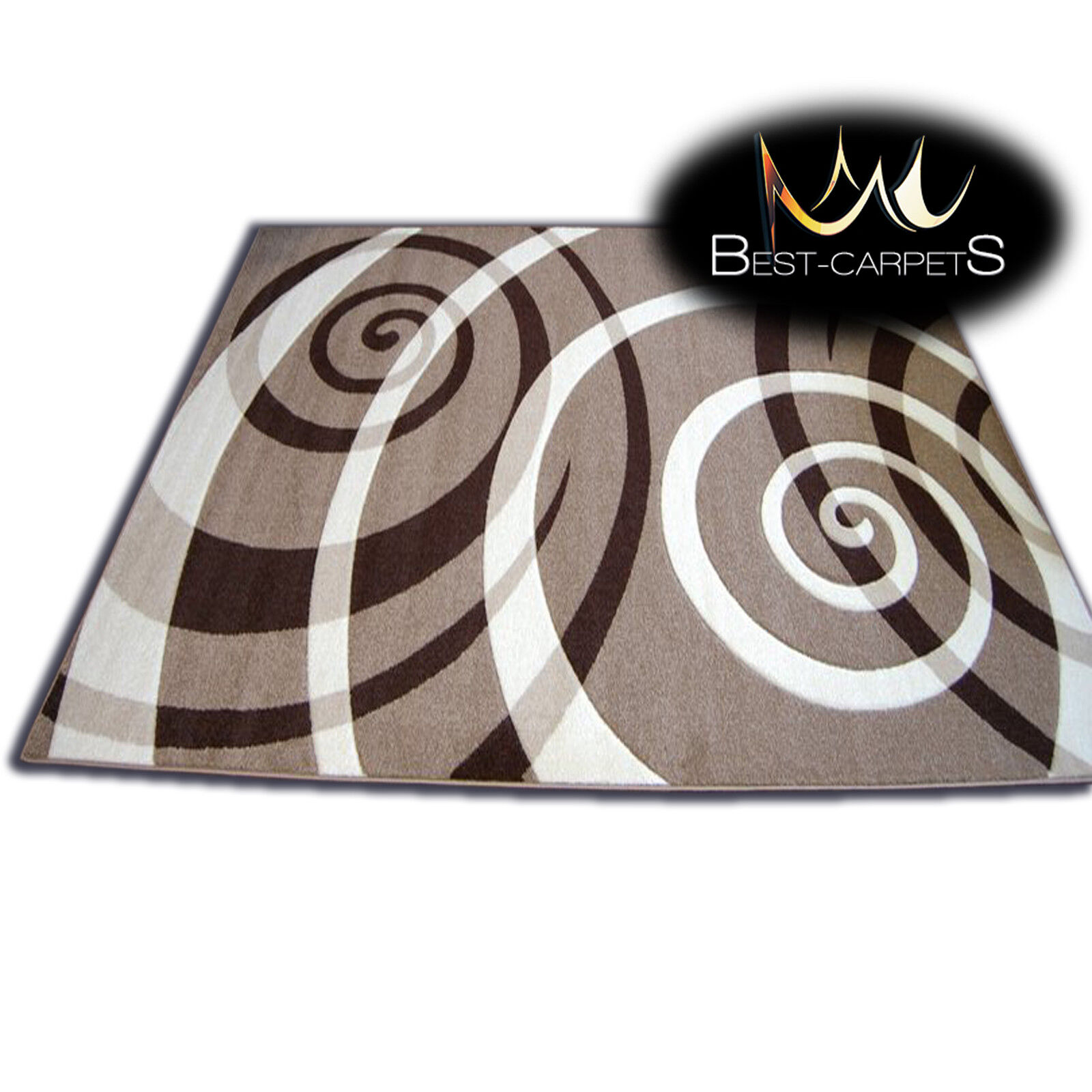 Épais moderne rugs rugs rugs 'pilly