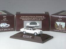 Wiking c&i modello speciale MERCEDES 230.6/8 DUE COLORI BIANCO-NERO IN PC-Box