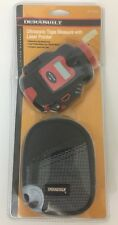 Durabuilt Ultrasonic Tape Measure With Laser Pointer And Soft Case New