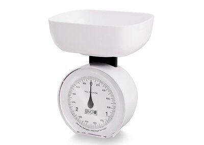 BILANCIA ANALOGICA da CUCINA e da DIETA EVA 3kg - mod.5515 COLORI ASSORTITI